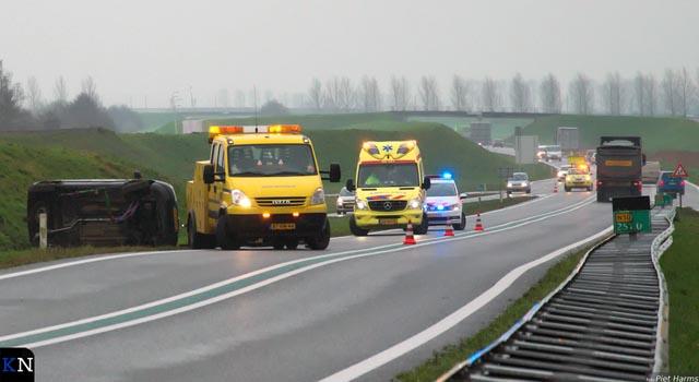 Werkweek begint met twee ongevallen op N50