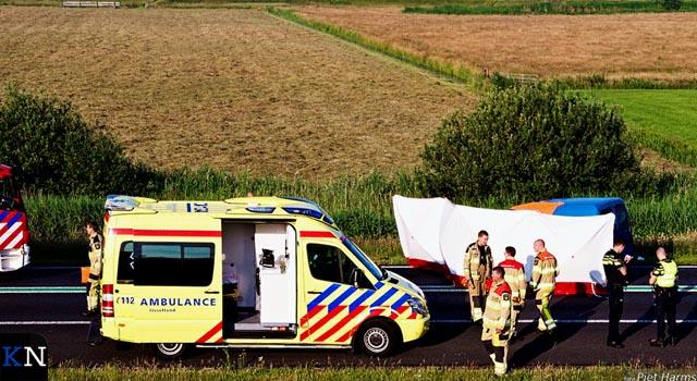 Verkeersongevallen bij Kampen eisen één dodelijk slachtoffer
