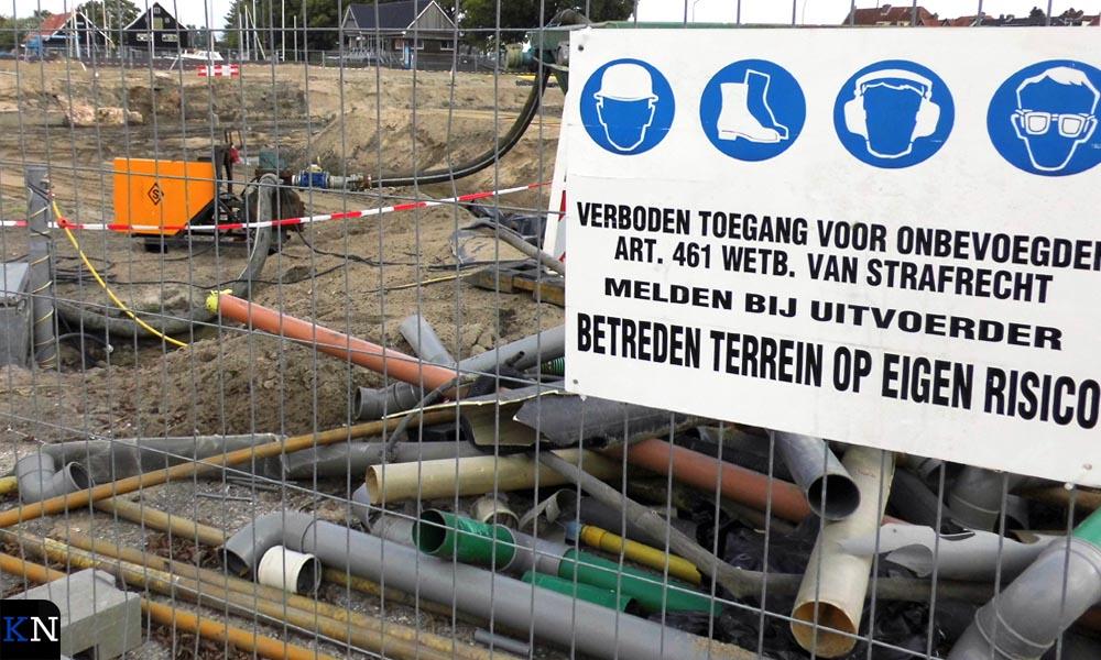 Al anderhalf jaar is de bouwput officieel afgesloten.
