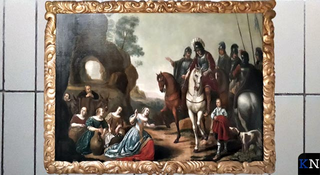 Schilderij Frans Walkate Archief als nieuw na restauratie (video)