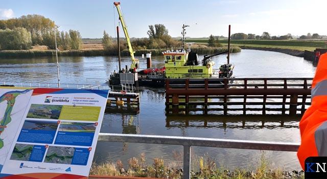 Schutsluis in Drontermeer gereed – bouw spuisluis gestart (video)