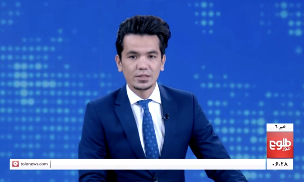 Nieuwspresentator Samber Perzad