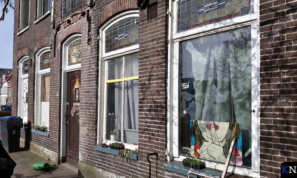 Voorzijde van de villa aan de Boven Havenstraat waarvoor een sloopvergunning is verleend.