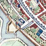 Kaartfragment uit Kampen Stadsgids.<br>Naast het cijfer 18 ligt de Cellespijp.