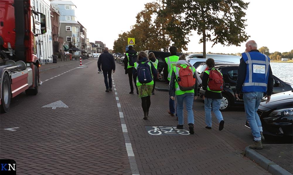 Deelnemers aan het projectbezoek 'Klimaatbestendige Stad'