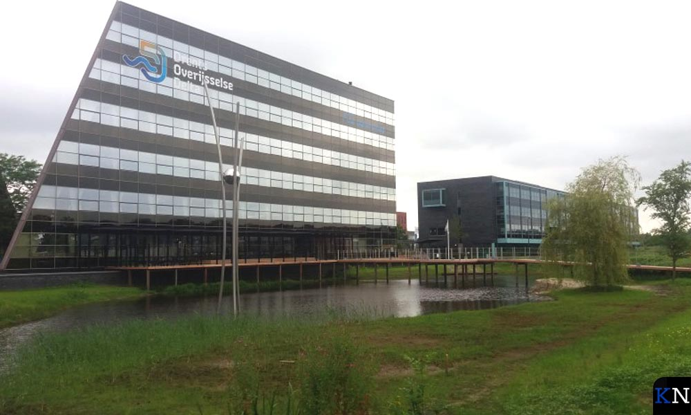 Het hoofdkantoor van WDODelta aan de Dr. Deenweg in Zwolle dat in 2016 gebouwd is.