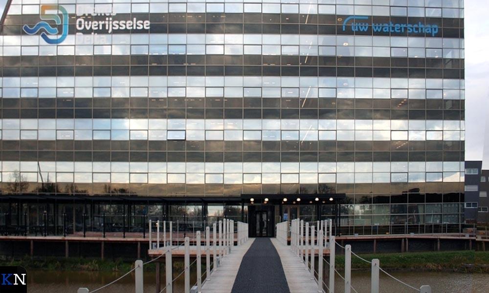 Het kantor van Waterschap WDODelta in Zwolle.