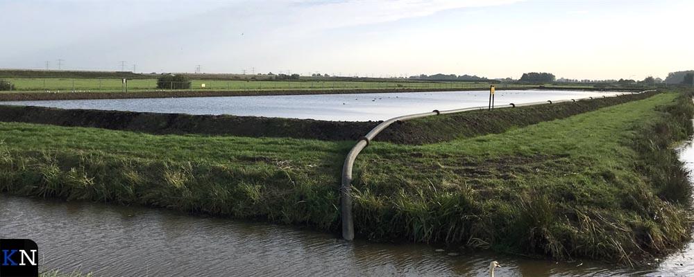 Een bassin van Waterschap Drents Overijsselse Delta.