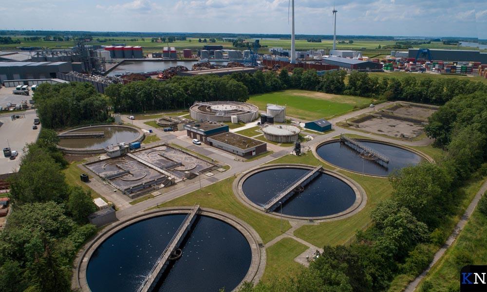 De rioolwaterzuiveringsinstallatie (RWZI) van Waterschap Drents Overijsselse Delta (WDODelta).