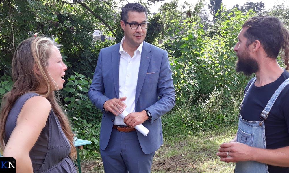Jan Peter van der Sluis in gesprek met Lotte Pieck en Robert de Reu (De Groene Brunneper).