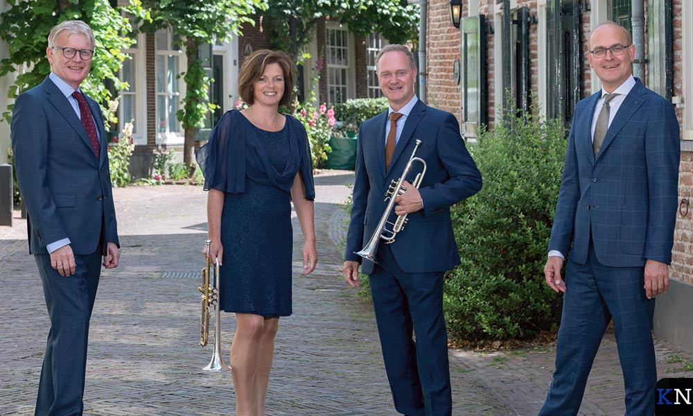 Harm Hoeve, Johan Bredewout en Arjan & Edith Post